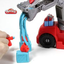 O caminhão de bombeiros Play-Doh
