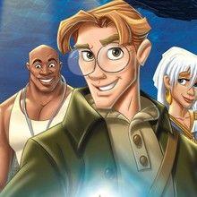 disney, Livro de desenhos para colorir do filme Atlantis : O Reino Perdido