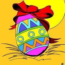 Páscoa, Páginas para colorir PASCOA