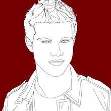 Desenhos do Taylor LAUTNER  para colorir