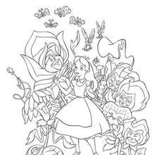 Alice na floresta