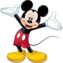 Páginas para colorir Mickey