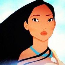 princesa, Páginas para colorir Pocahontas
