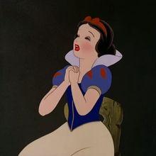 princesa, Páginas para colorir A Branca de neve e os sete anões