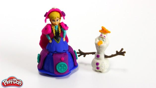 A plasticina A rainha da neve