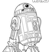 Desenhos para colorir R2-D2