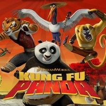 Desenhos do PANDA KUNG FU para colorir