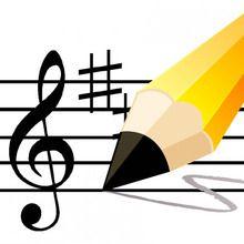 Páginas para colorir MUSICAL