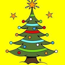 Natal para crianças, Páginas para colorir ARVORES DE NATAL