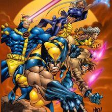 Páginas para colorir X-MEN