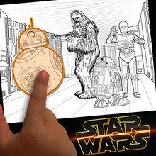 Criar uma coloração Star Wars