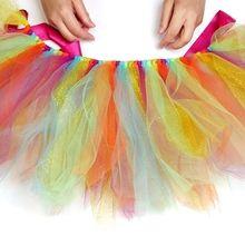 Faça um traje extravagante delicioso para meninas