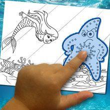 Fazendo uma coloração: o mundo aquático