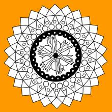 Mandala com os quatro elementos