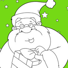 Papai Noel sorrindo