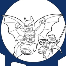 Lego Batman Desenhos Para Colorir Hellokids