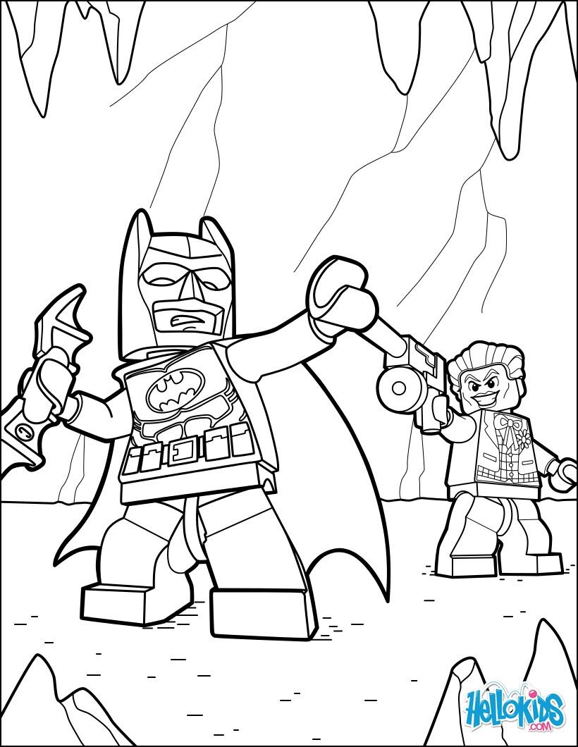 Desenhos Para Colorir De Lego Batman Joker Pt Hellokids Com