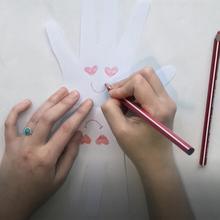 Cartão do dia de Valentim