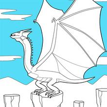 Dragão voado gigante
