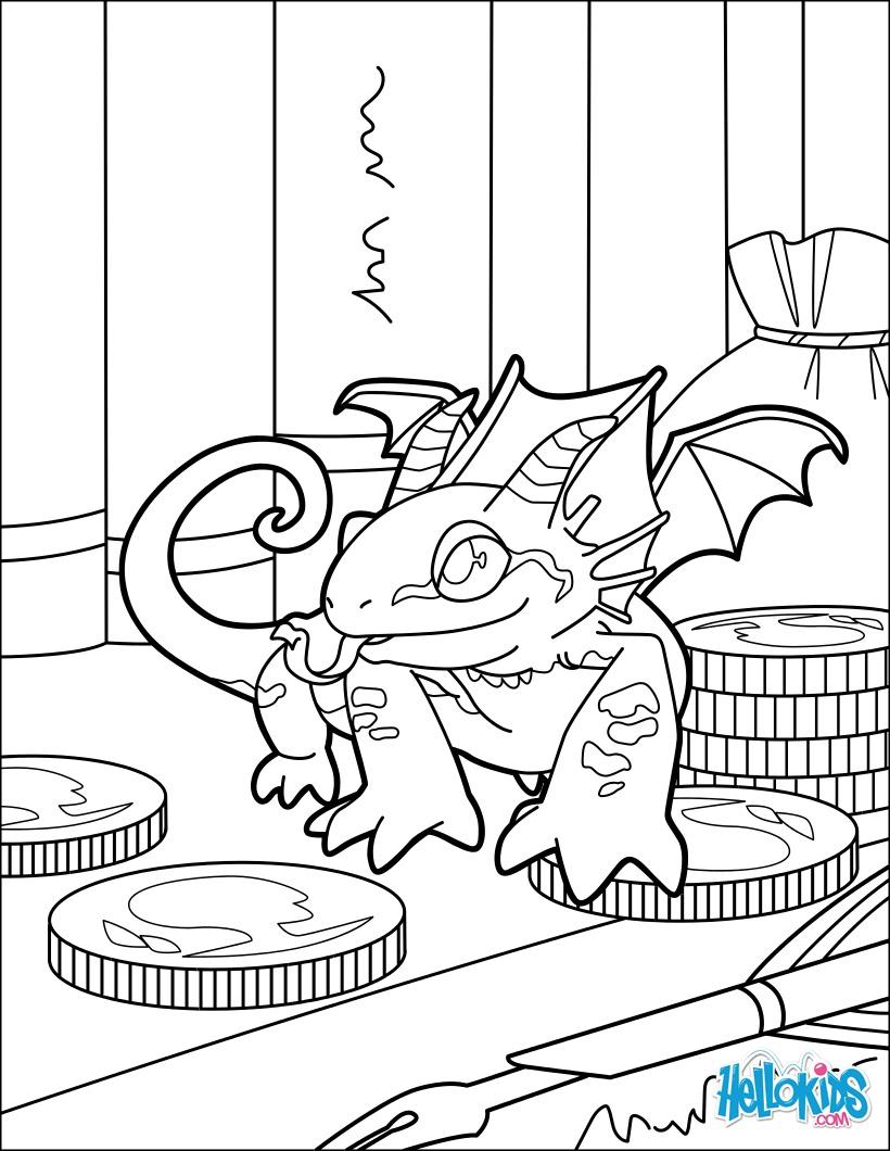 Dragão em miniatura