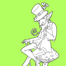 Leprechaun misterioso