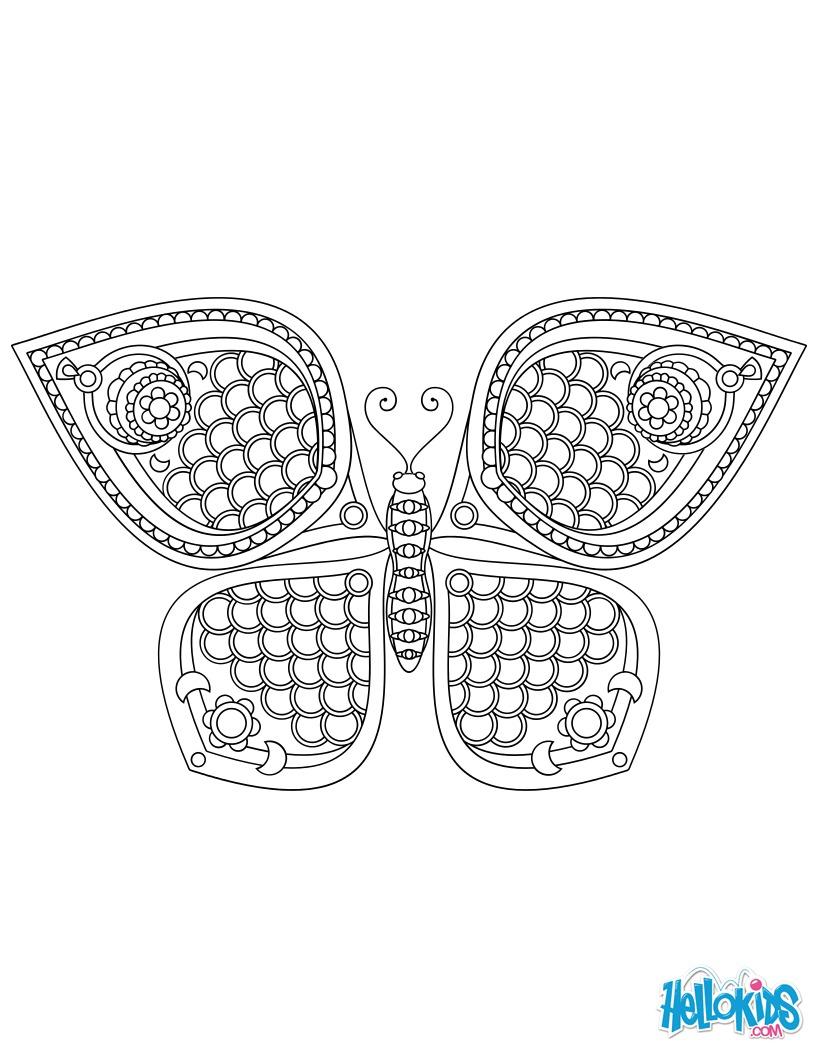 Borboleta Mandala