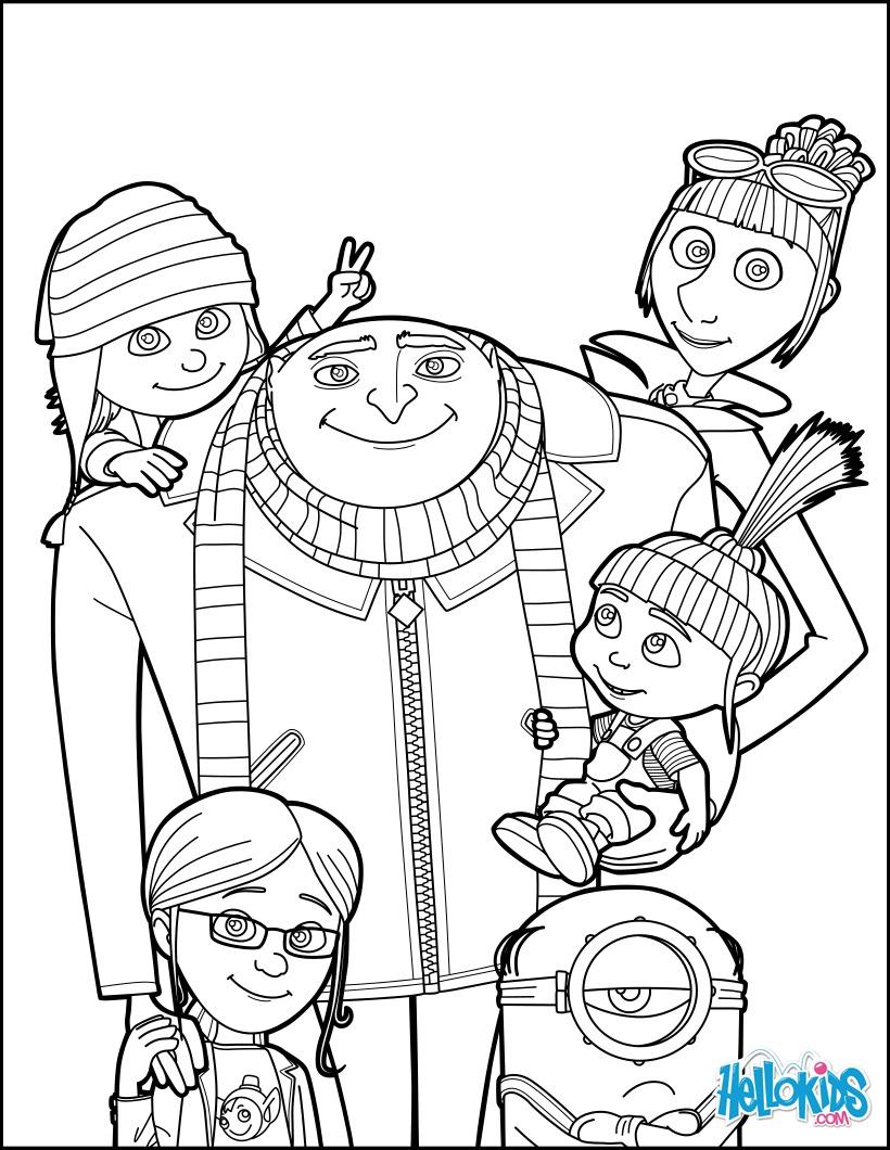 Gru e sua família