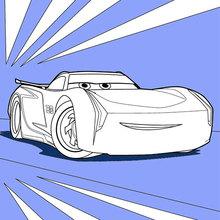 Desenhos Para Colorir De Carros 3 Jackson Storm Pt Hellokids Com