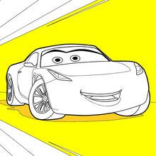 Desenhos Para Colorir De Carros 3 Cruz Ramirez Pt Hellokids Com