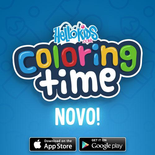 Hellokids coloring time aplicativo