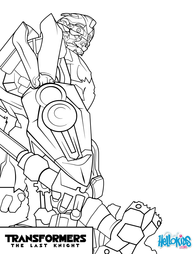 Desenhos Para Colorir De Transformers Bumblebee Pt Hellokids Com