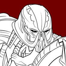 Desenhos Para Colorir De Transformers Megatron Pt Hellokids Com