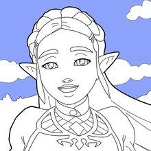Desenhos Do Jogo The Legend Of Zelda Para Colorir Desenhos Para
