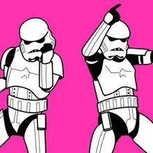 Dançando Stormtroopers