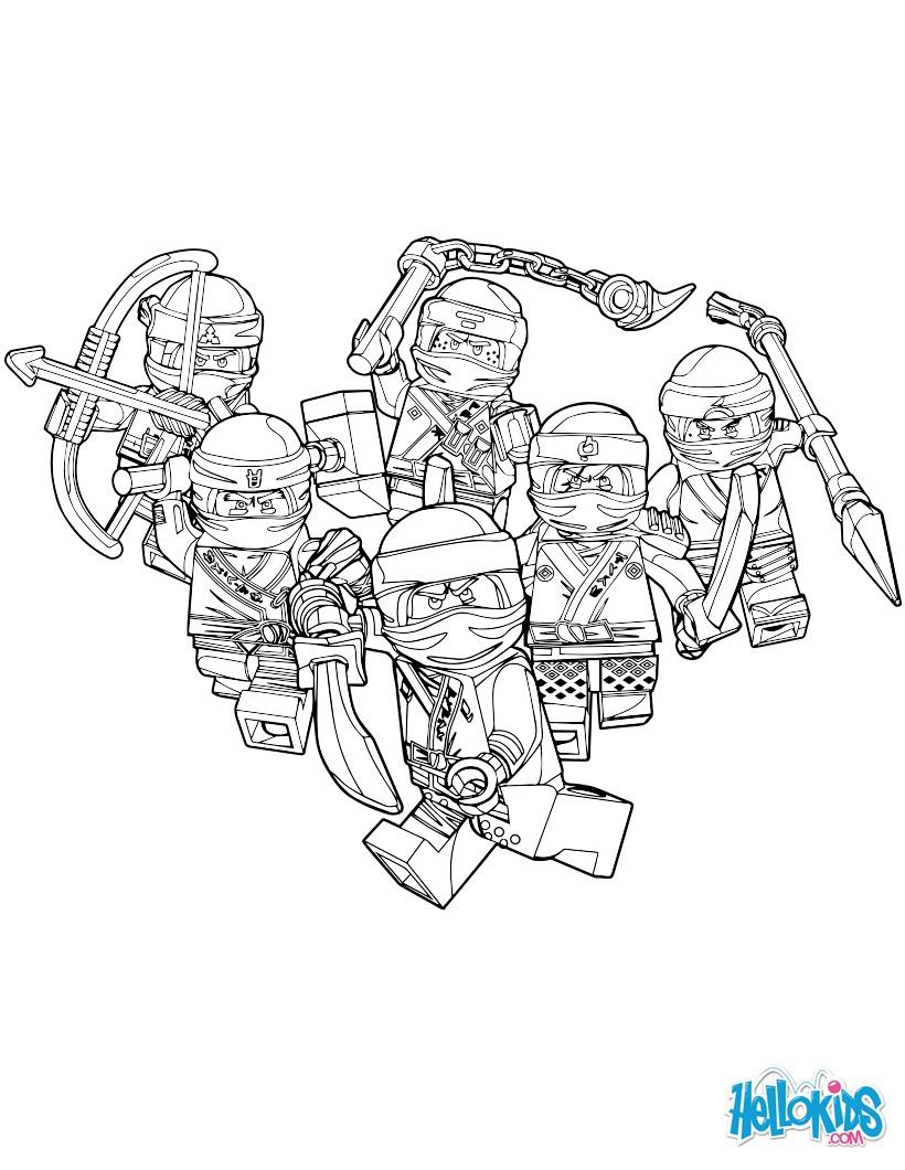 Ninjago - Bons Homens