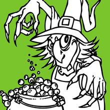 Poção mágica para o Dia das Bruxas