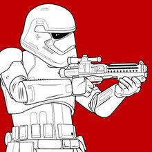 Stormtrooper luta na Primeira Ordem
