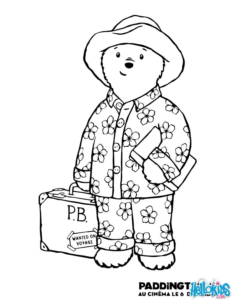 Paddington usa um pijama