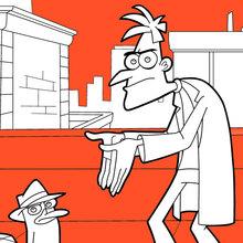 Perry e Dr. Heinz Doofenshmirtz