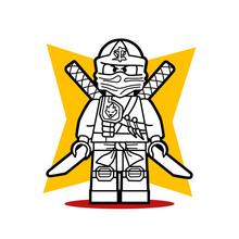 O Lego Ninja de Ninjago