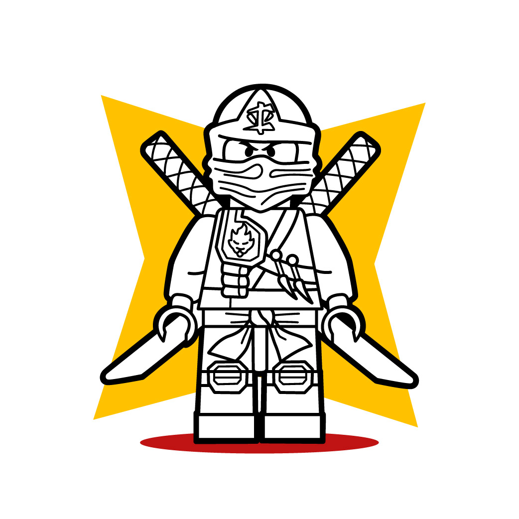 Como desenhar o lego ninja de ninjago - Dessiner un ninja ...