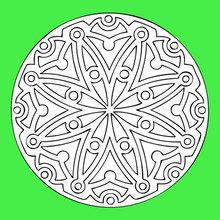 Desenhos Para Colorir De Mandalas Pt Hellokids Com