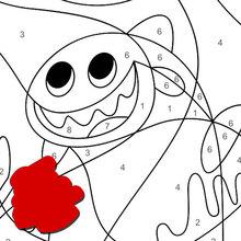 Paginas Para Colorir Animais Seguindo Os Numeros Desenhos Para