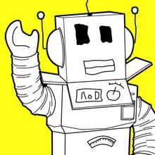 O robô de Roblox