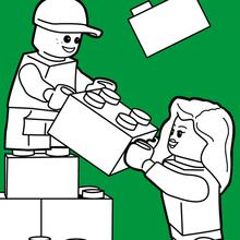 Construindo com lego