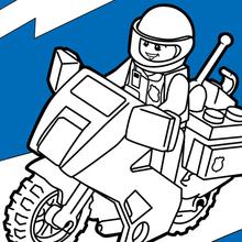 policiador de Lego