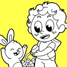 Procurando por ovos de Páscoa