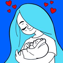 Dia das mães: coração