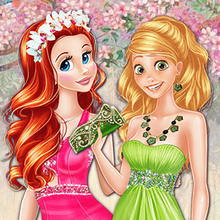 Colors of Spring Princess Gowns