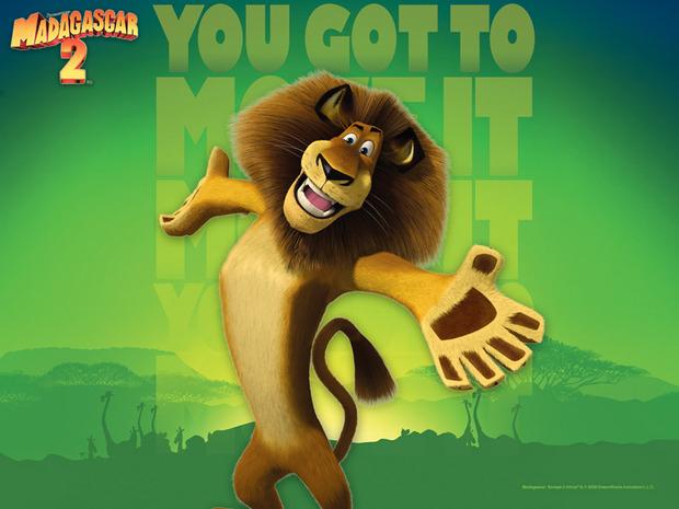 Fundo de tela de Madagascar 2 : Alex, o Rei